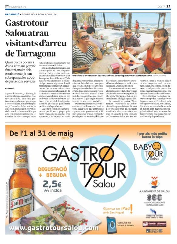 240513 Diari de Tarragona