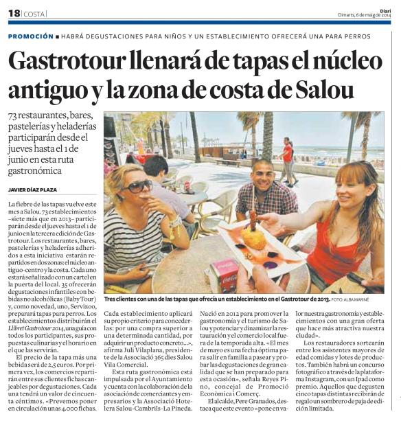 050614 Diari de Tarragona