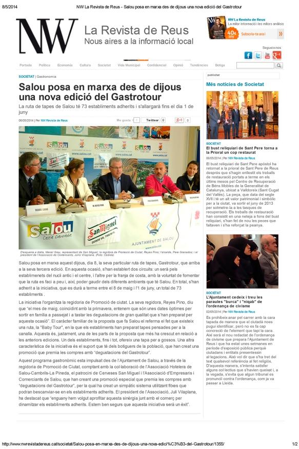 050614 NW Revista de Reus